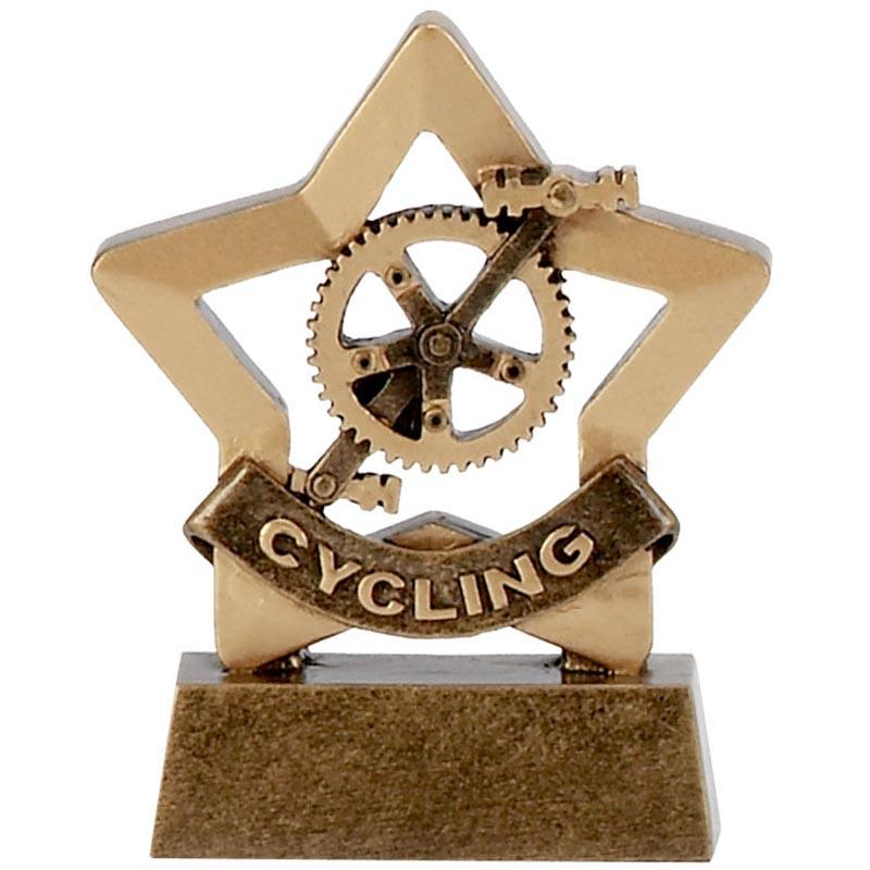 Cycling Mini Star Trophy
