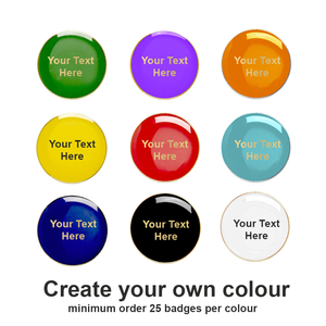 Create your own Round Badges (Coloured)