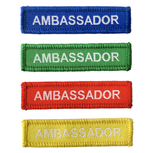 ambassador woven patches