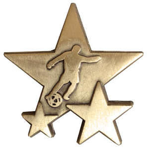 Triple Star Badge - FOOTBALL