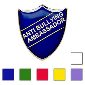 Anti Bullying Ambassador school badges