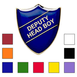 Deputy Head Boy School Badges