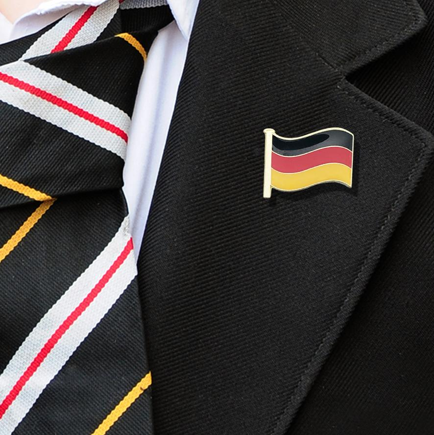 Germany Flag Badge on Lapelle