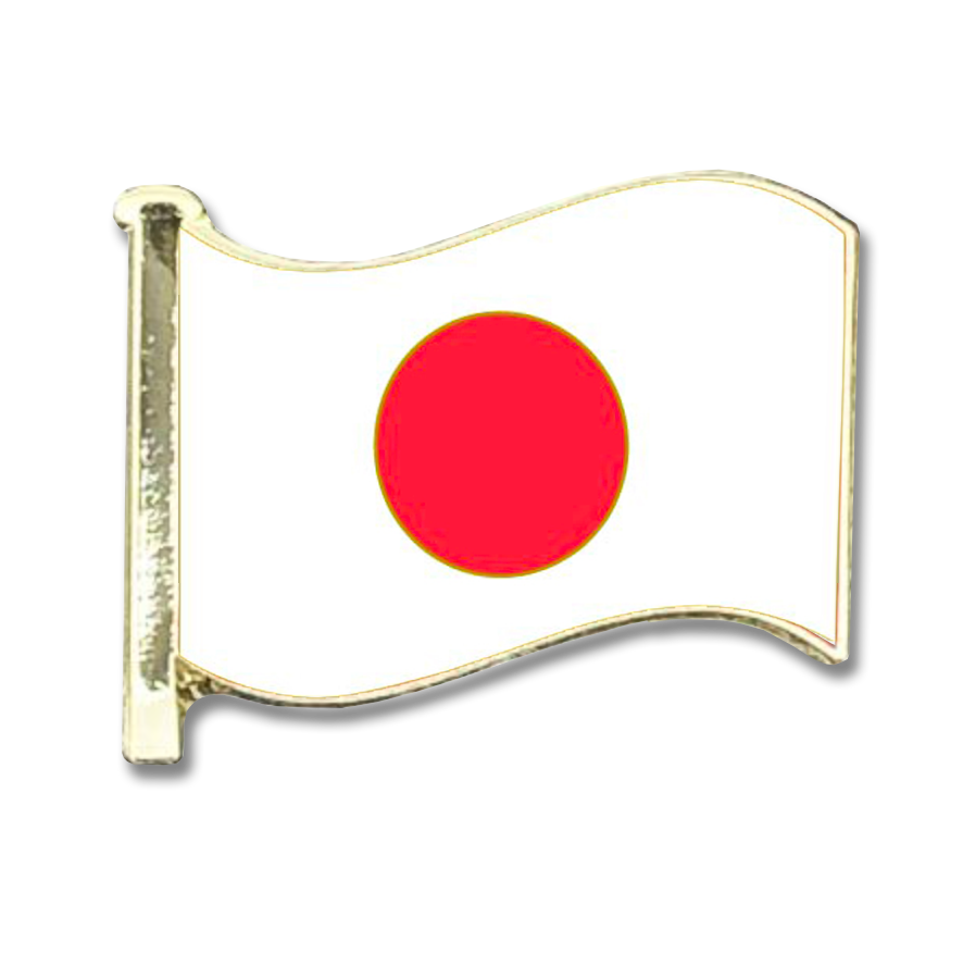Japan Flag Badge