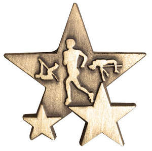 Triple Star Badge - ATHLETICS
