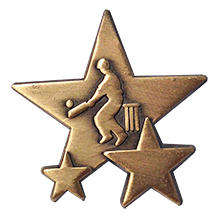 Triple Star Badge - CRICKET