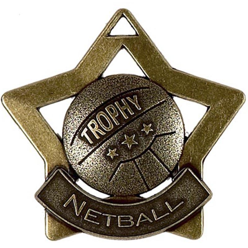 Bronze Netball Star Badge