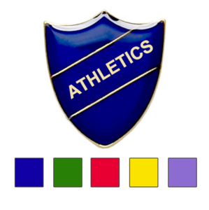 Athletic school badge