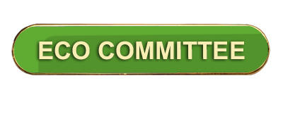 Green Bar Shaped Eco Committee Badge