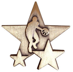 Triple Star Badge - BASKETBALL