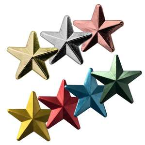 3D  Star Badges