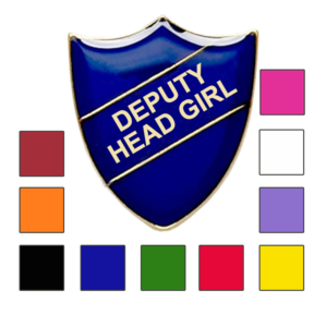 DEPUTY HEAD GIRL School badges