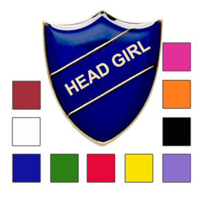 HEAD girl school badge