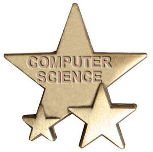 Triple Star Badge - COMPUTER SCIENCE