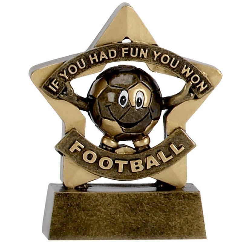 Football Fun Mini Trophy