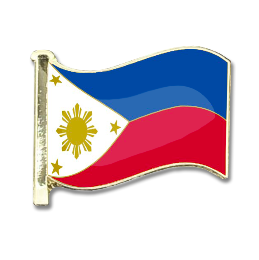 Phillipines Flag Badge