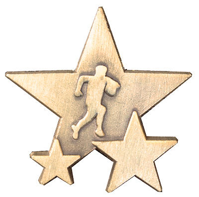 Triple Star Badge - RUGBY