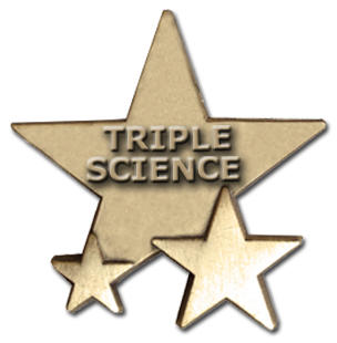 Triple Star Badge - TRIPLE SCIENCE