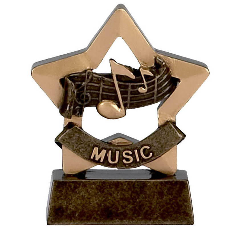 Music Mini Star Trophy