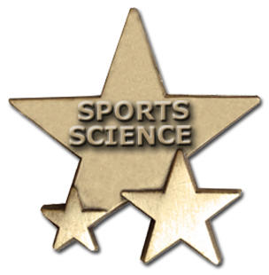 Triple Star Badge - SPORTS SCIENCE