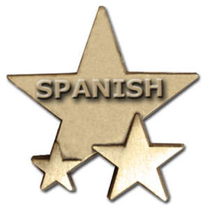 Triple Star Badge - SPANISH