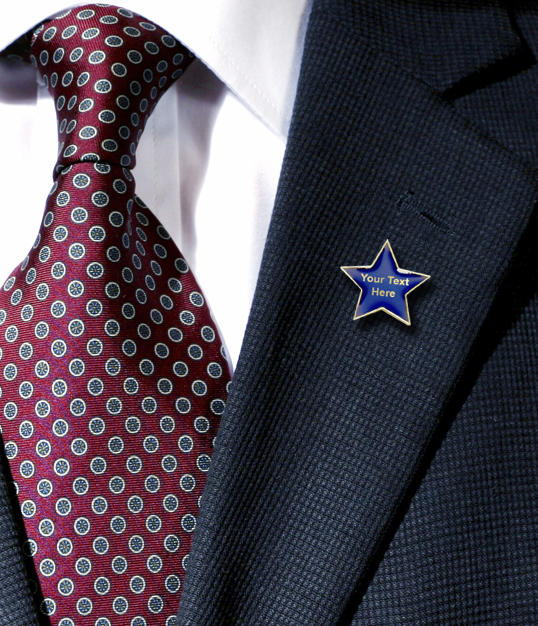 Create your own Star Badge - on a Lapelle