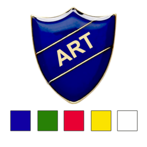 art shield school badge