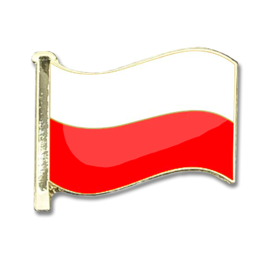 Poland Flag Badge