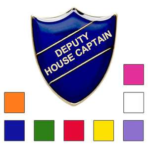 DEPUTY HOUSE CAPTAIN SCHOOL BADGES