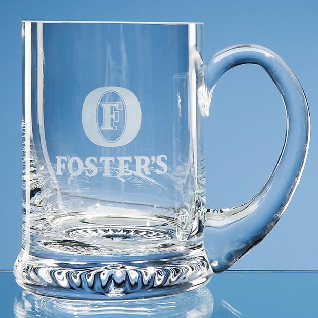 Personalised Glass Tankards