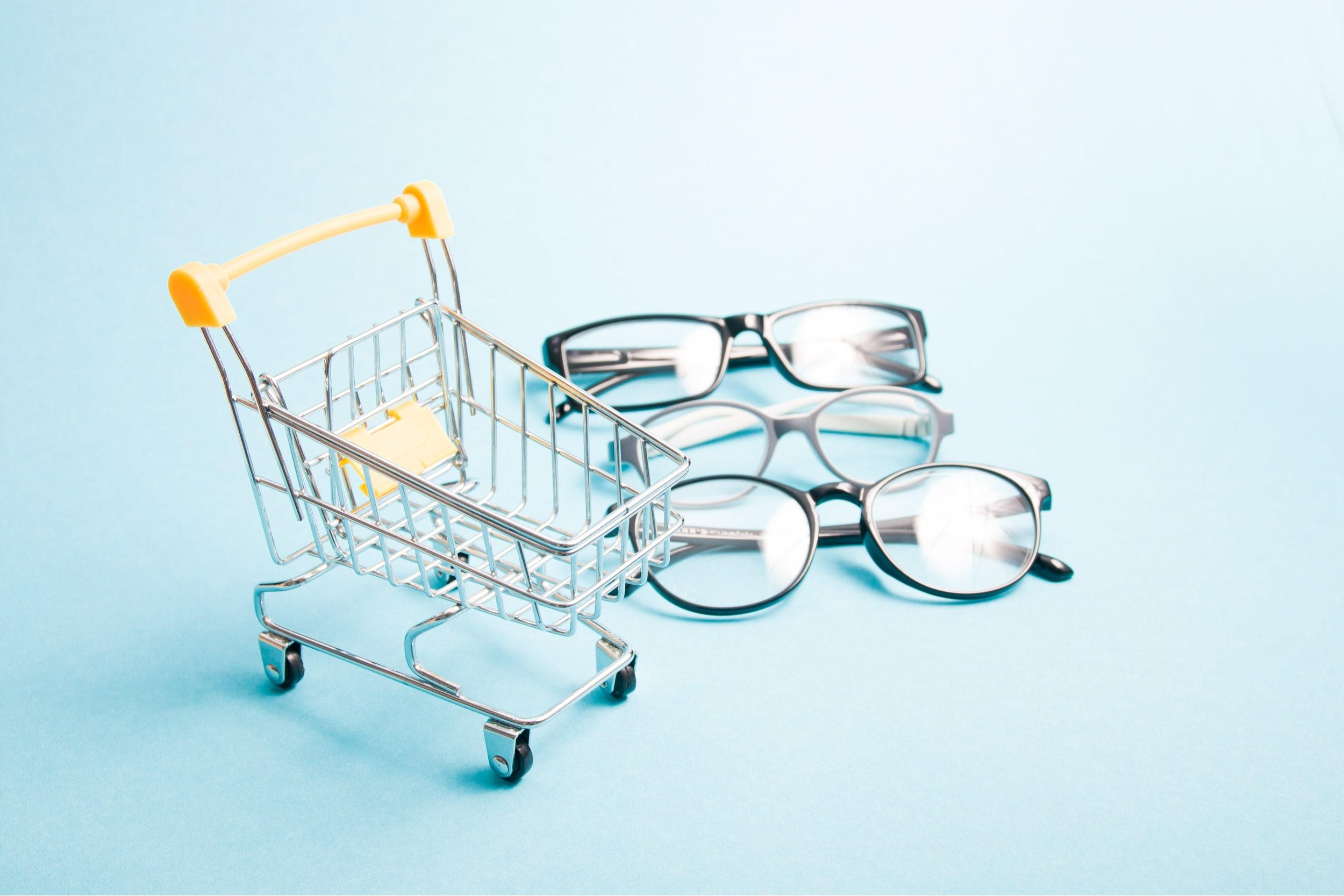 Online glasses shopping