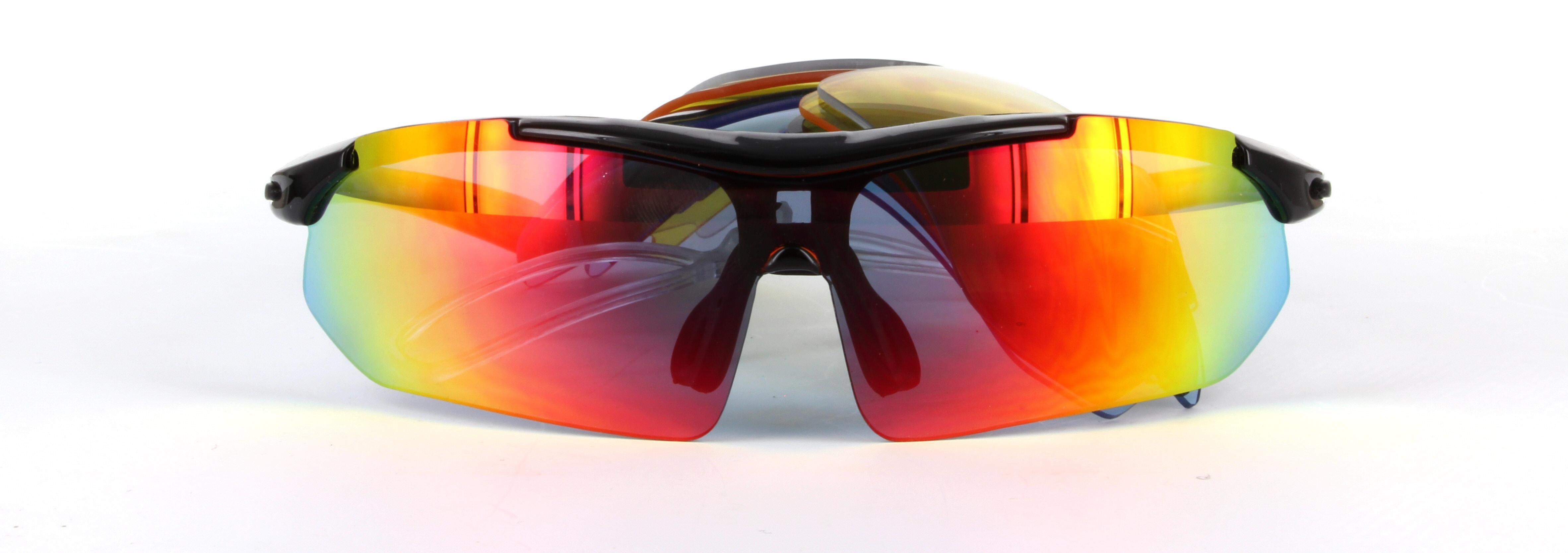 64ced31dcd6 IG619 Black   Red - Sports Sunglasses