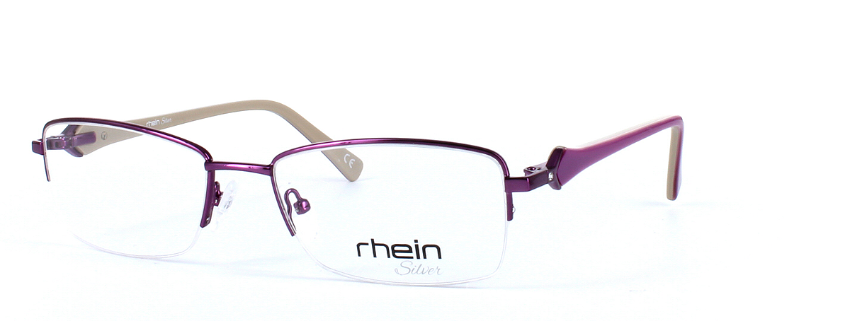 Ladies semi-rim glasses - Sloane - image 1