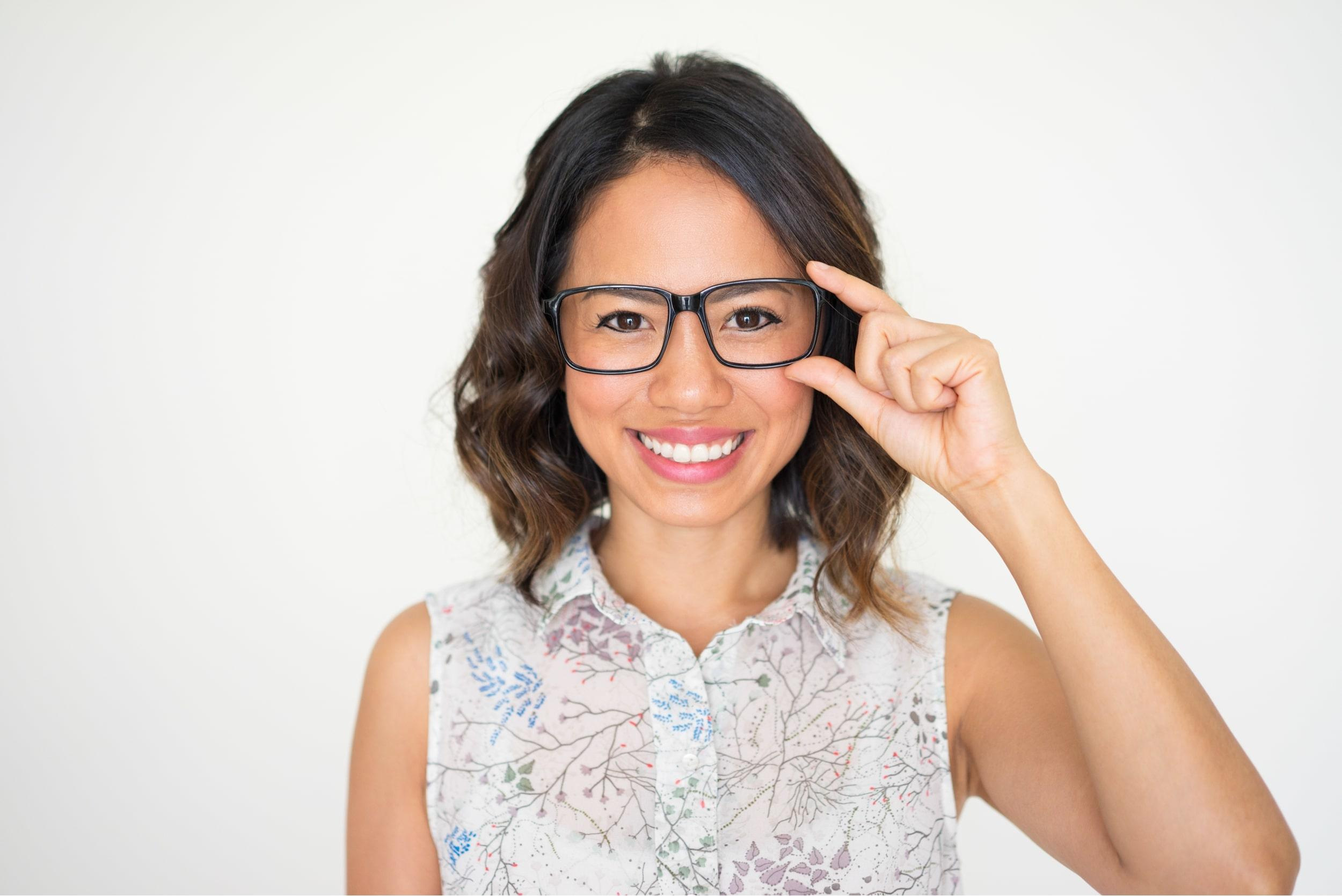 Woman in Glasses