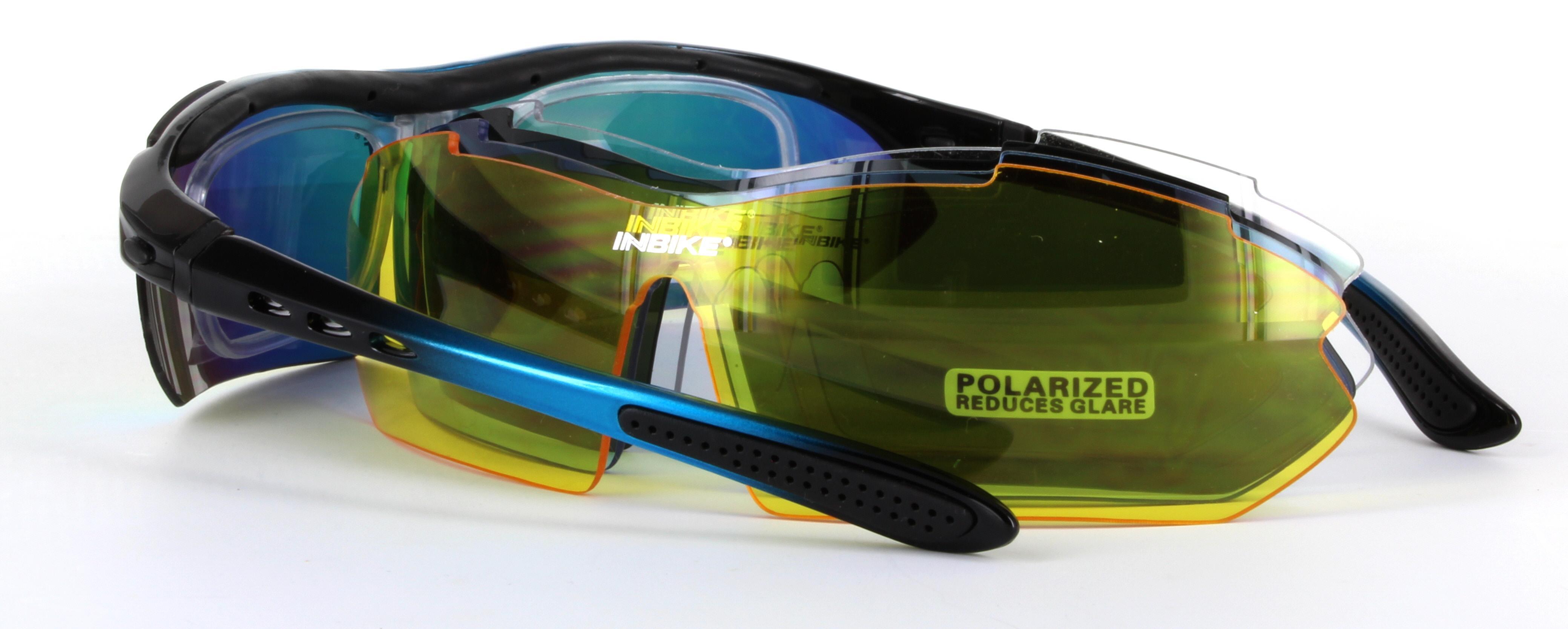 3f2fd0d6331 IG619 Black With Blue - Sports Sunglasses