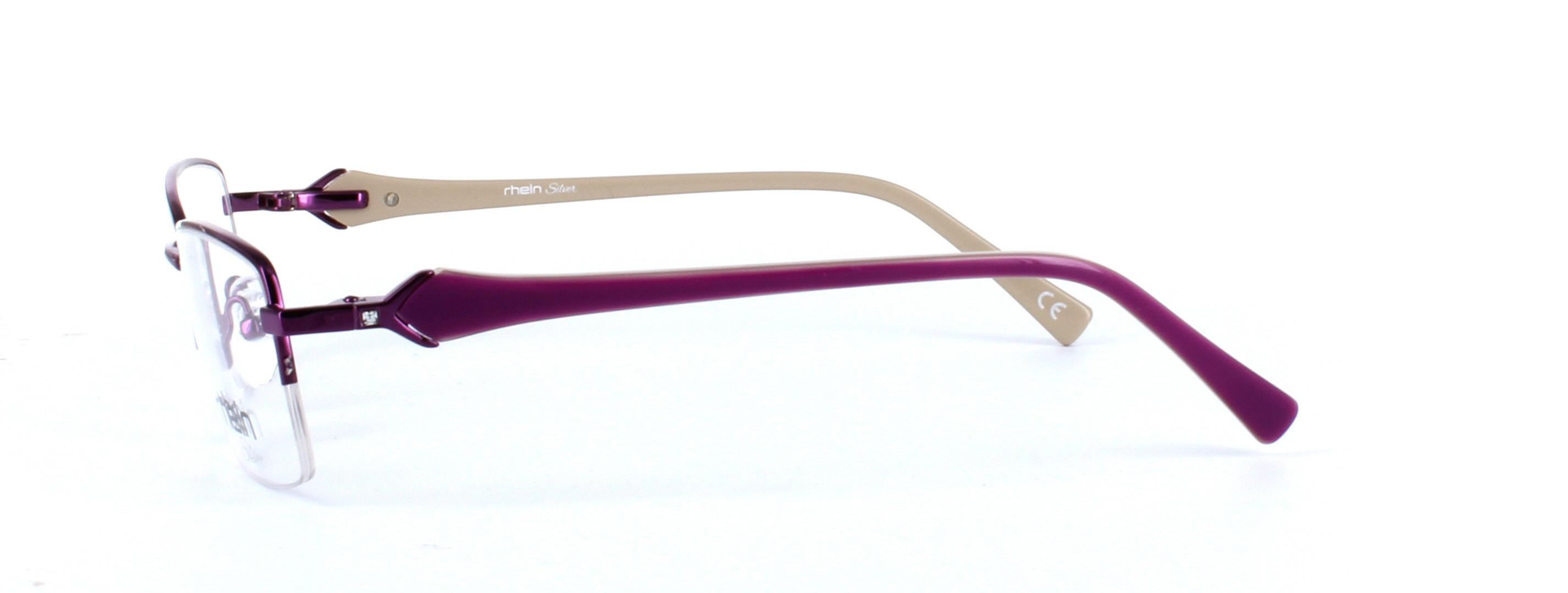 Ladies semi-rim glasses - Sloane - image 2