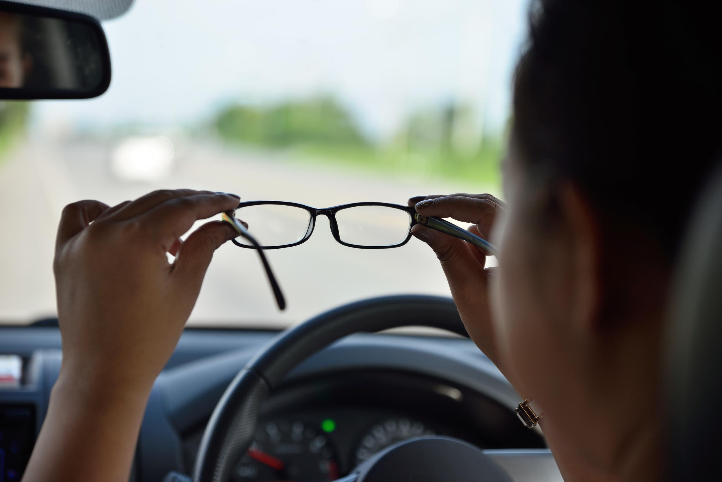Driving With Glasses
