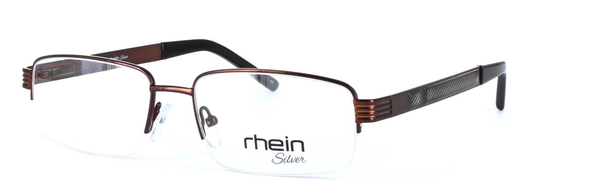 3e5520710c Kit - Gents Classic Style Semi-Rimless Glasses Frame