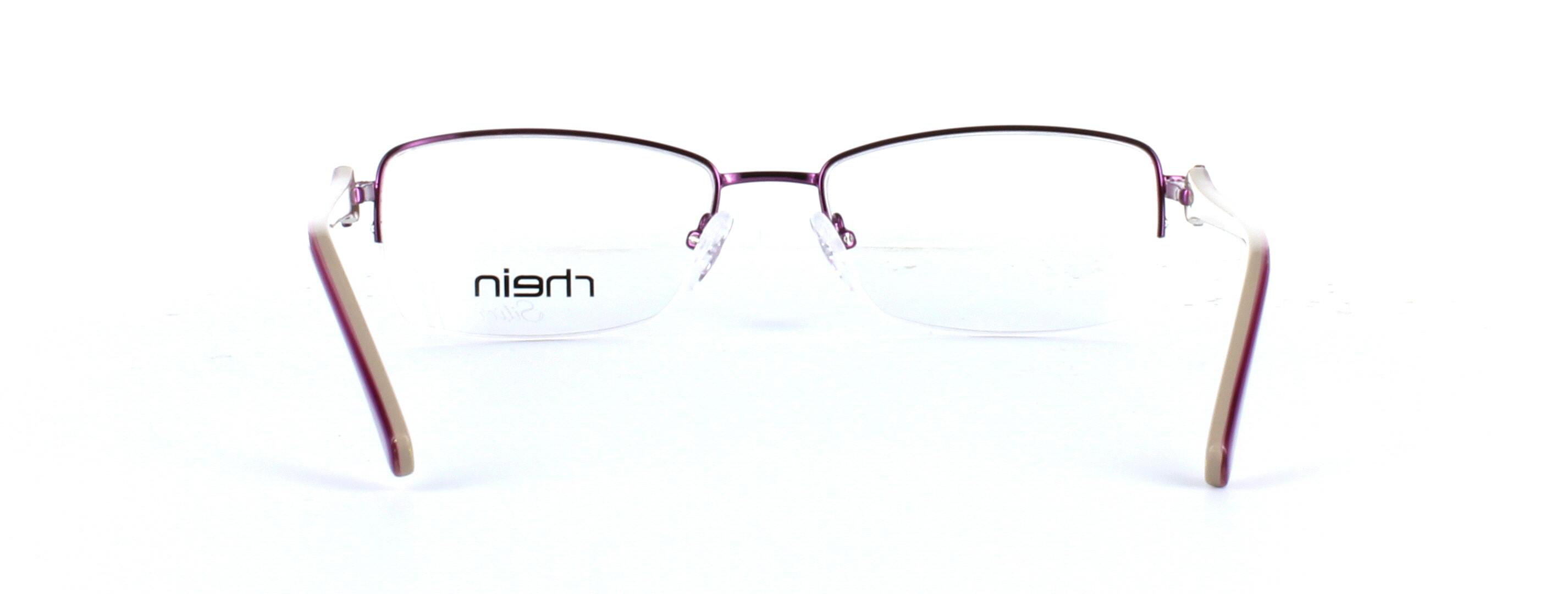 Ladies semi-rim glasses - Sloane - image 3