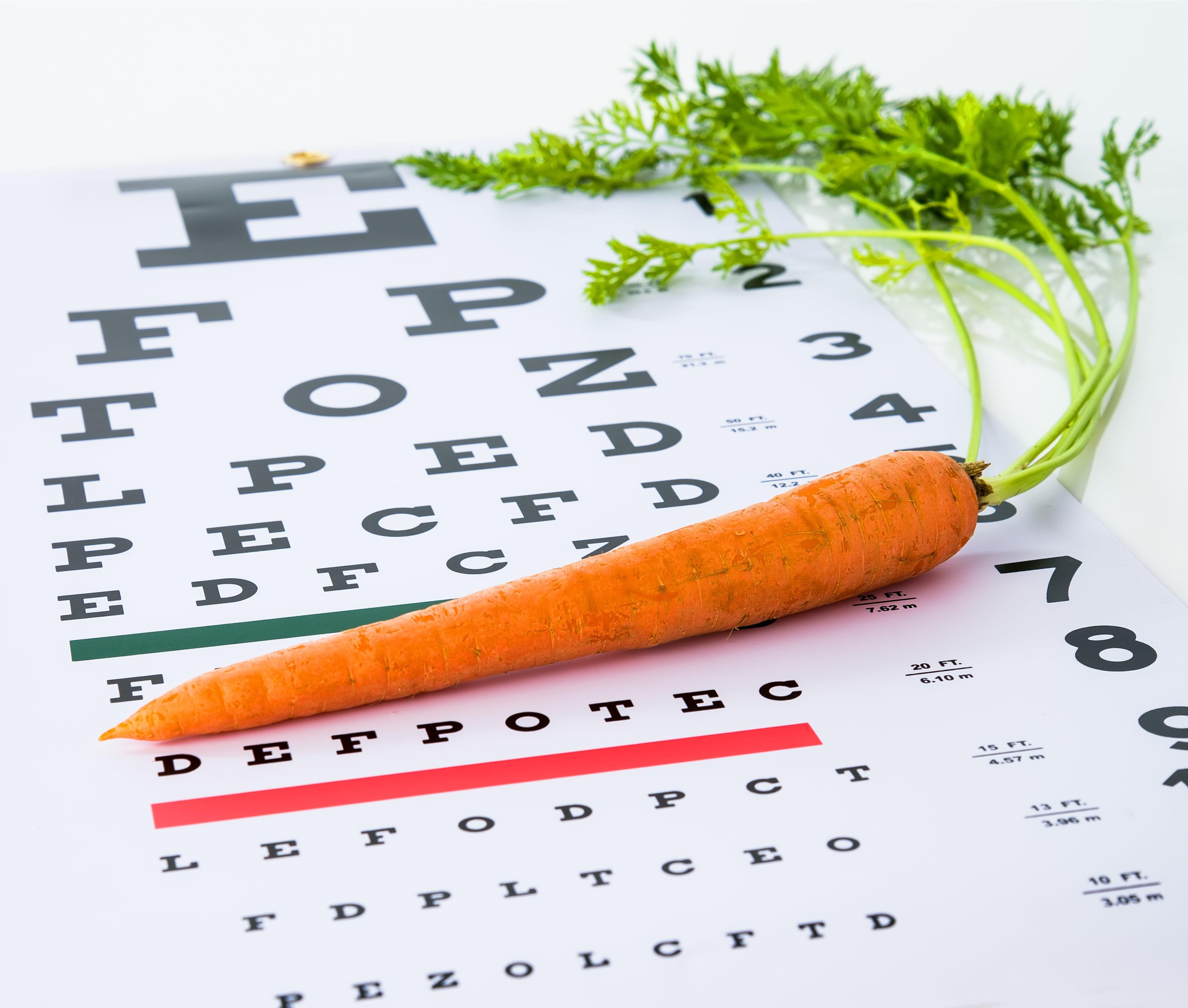 Vegetables for healthy eyes