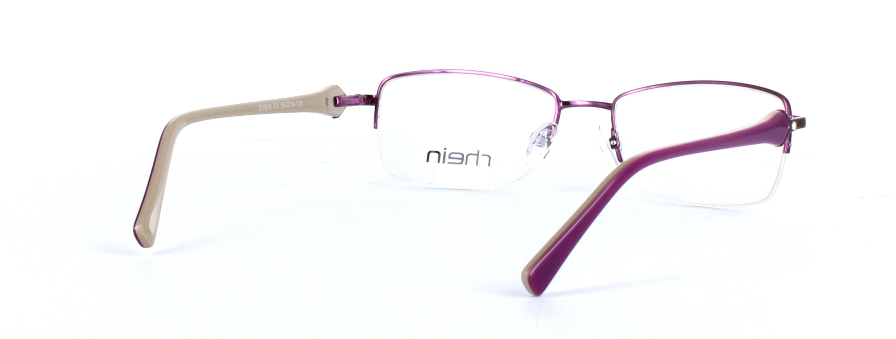 Ladies semi-rim glasses - Sloane - image 4