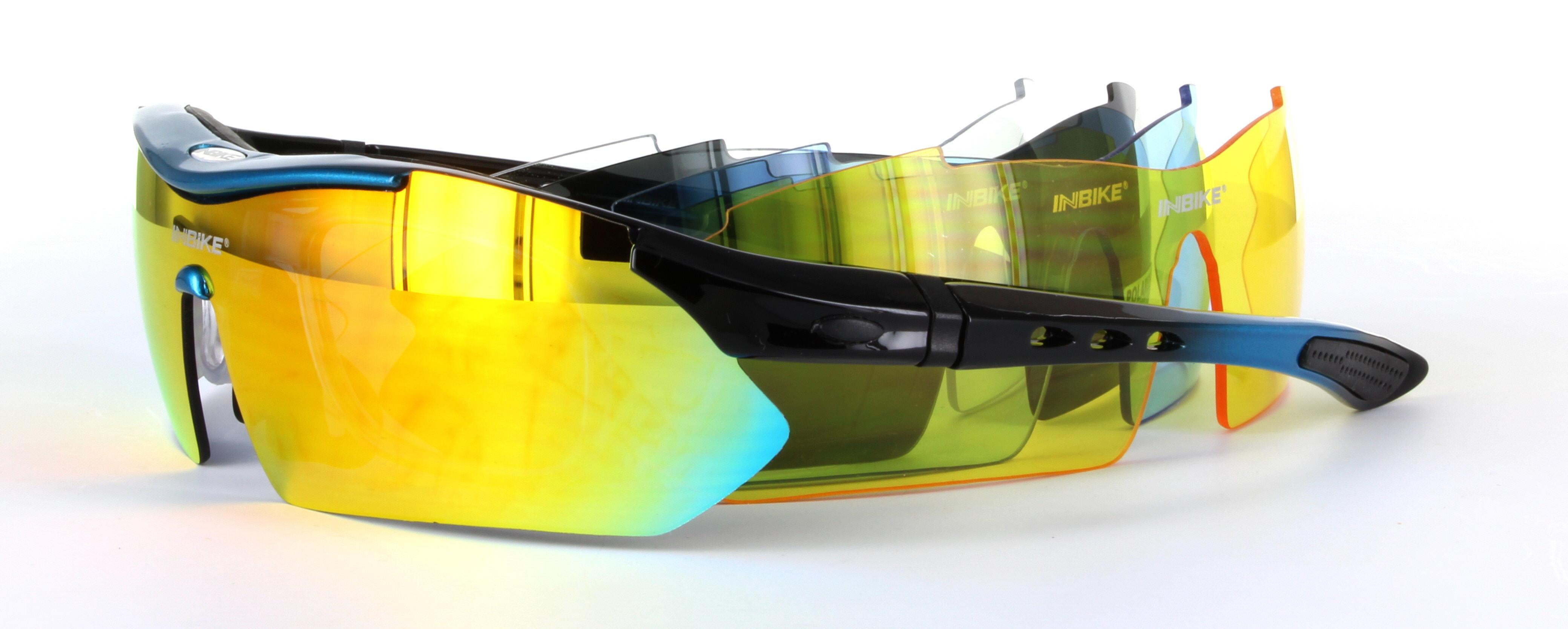 af15356046f IG619 Black   Blue - Sports Sunglasses