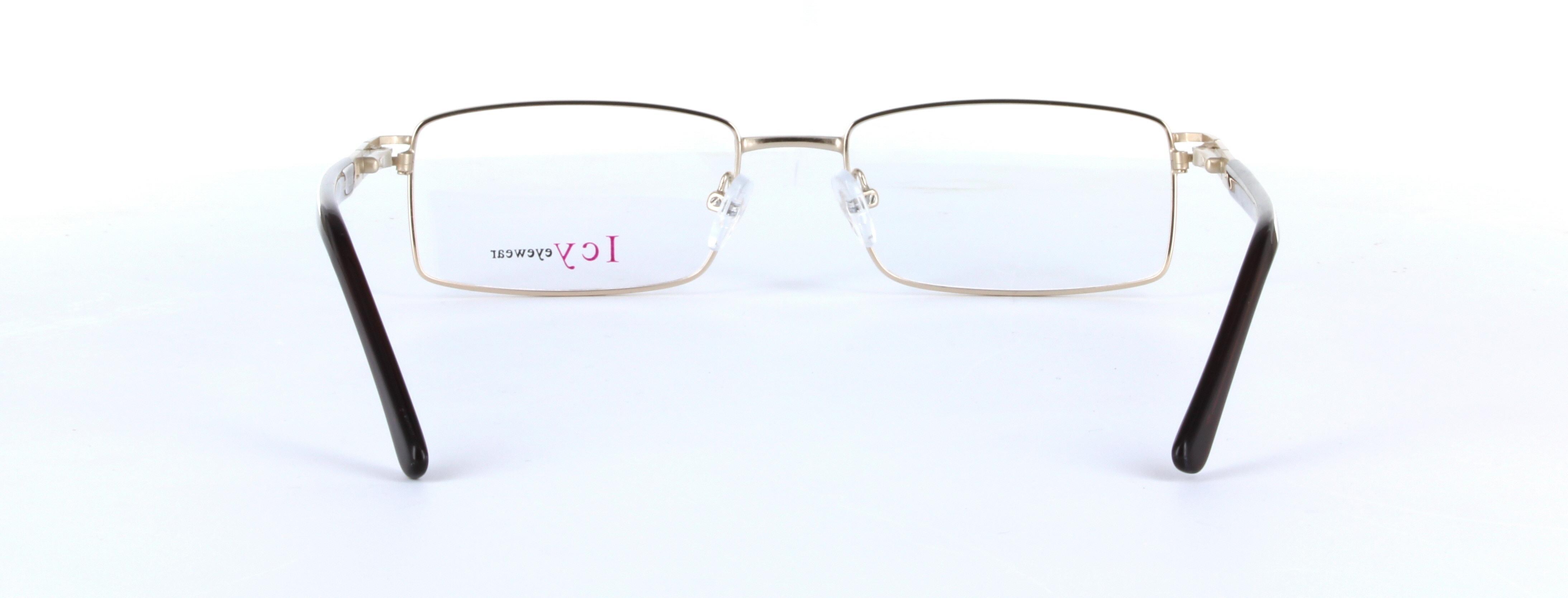 48afe683ecc Robin - Classic Metal Unisex Prescription Glasses - Gold