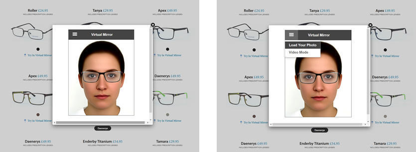Buy Glasses with Confidence Using the Virtual Mirror