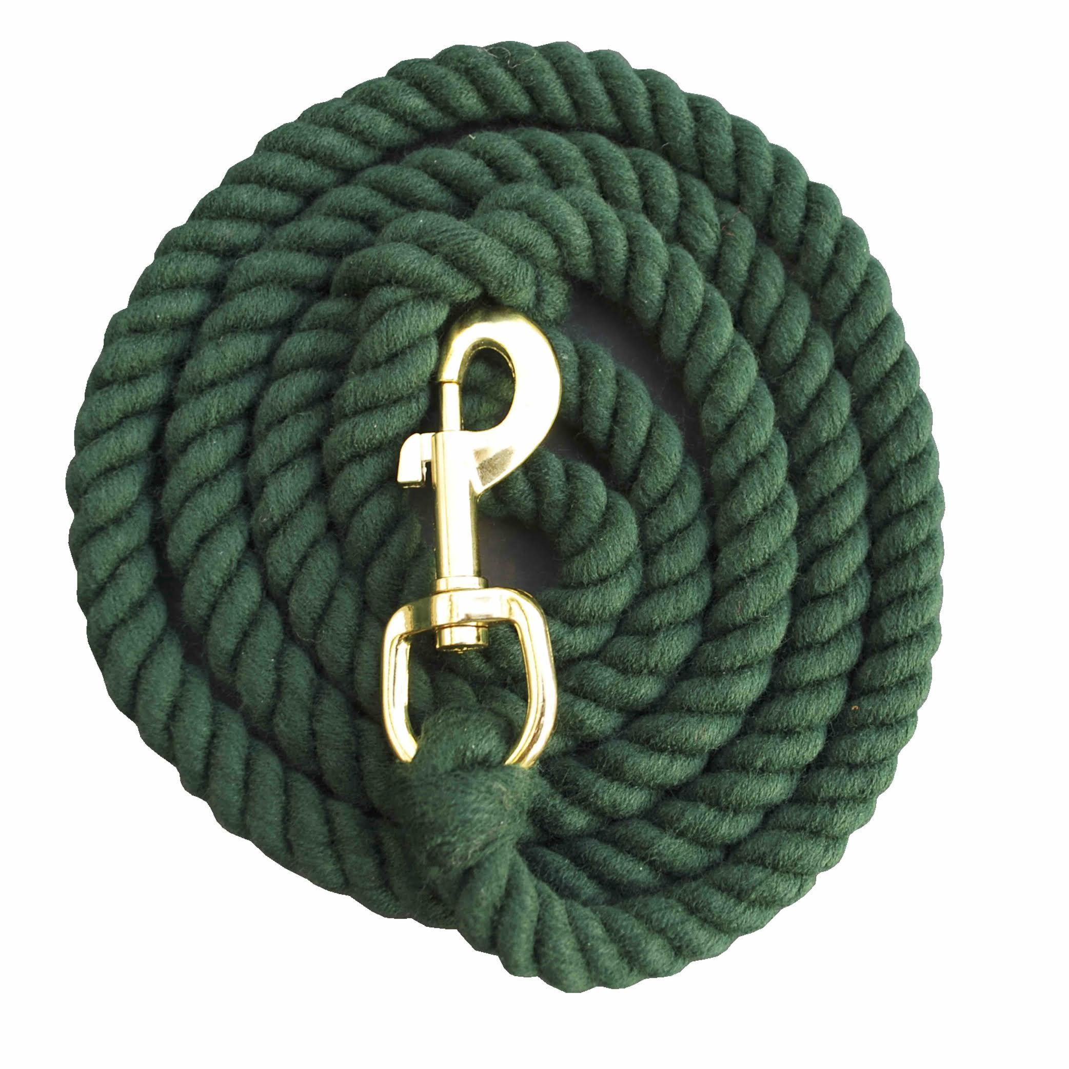 green rope dog lead