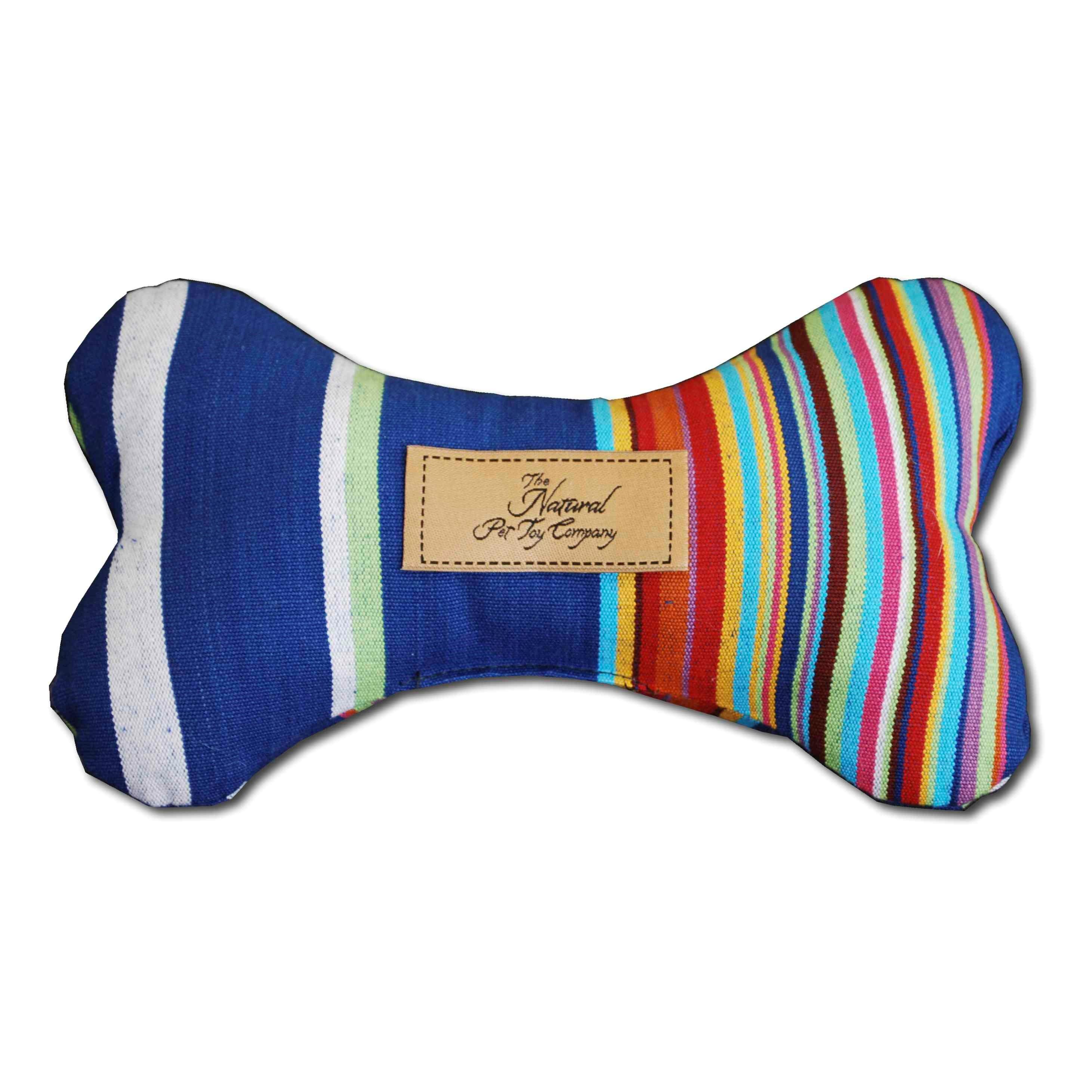 Luxury bone dog toy with aniseed