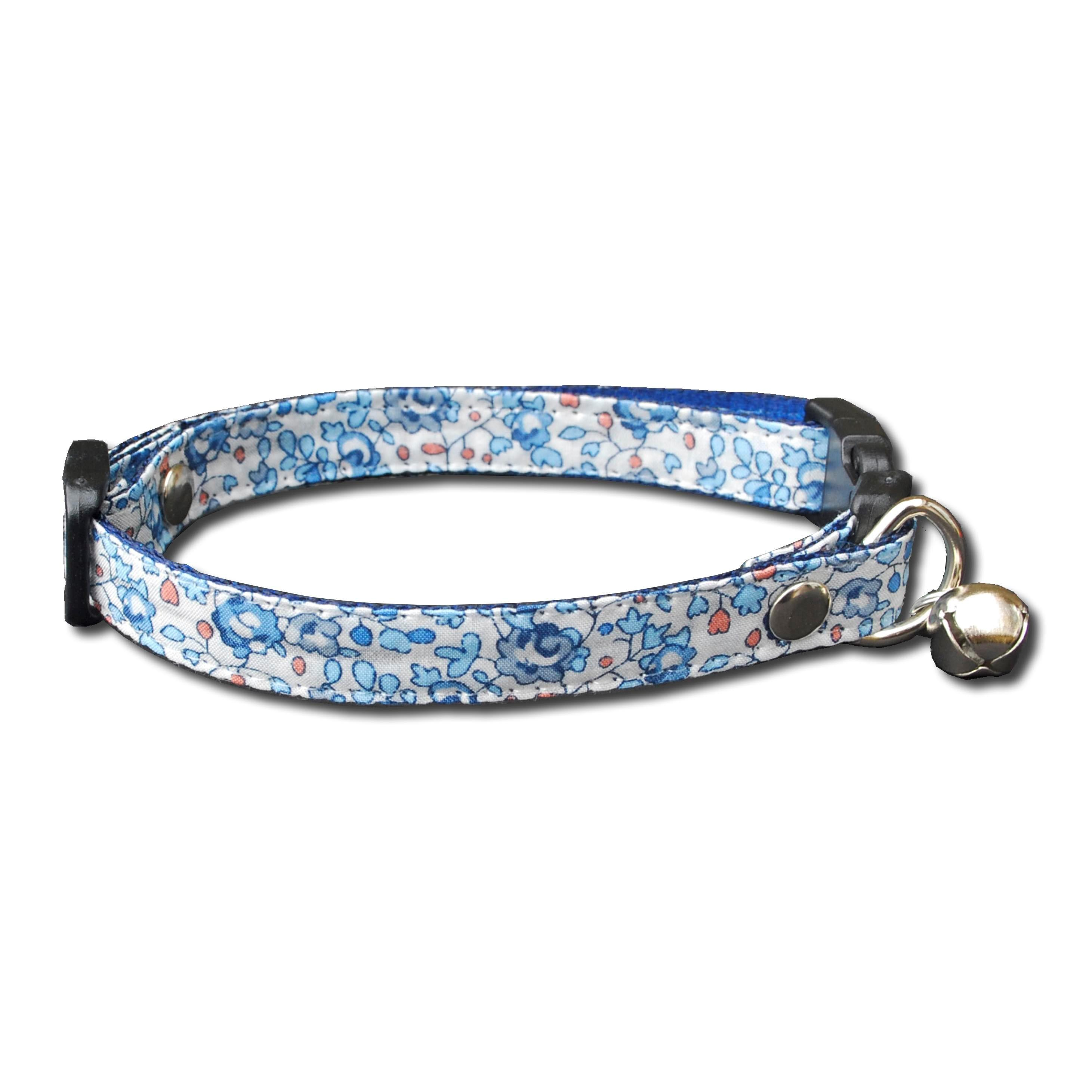 Handmade Liberty Print Cat Collar