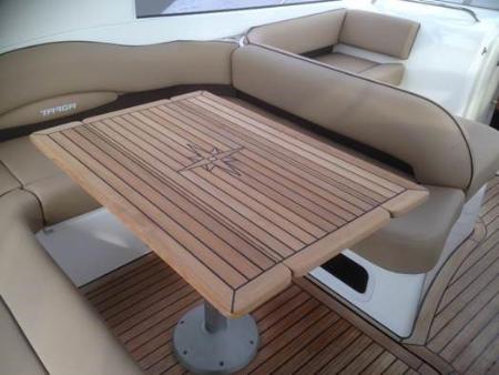 Nautic Star Wing Teak Boat Table Marine Teak