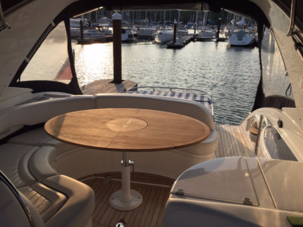 Nautic Star Island Teak Boat Table Marine Teak