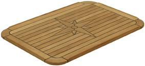 Nautic Star Soft Marine Teak Table